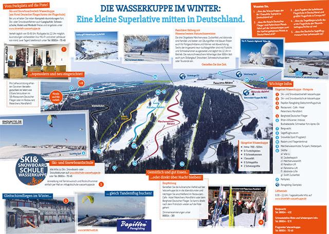 Flyer: Die Wasserkuppe im Winter (PDF)